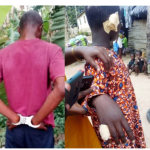 Man Severs Ears Of His 10-Year-Old Son, Burns His Fingers For Stealing His Money (Photos)