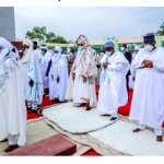 Despite High COVID-19 Cases In Kano, Eid Prayers Hold Without Social Distancing (Photos)