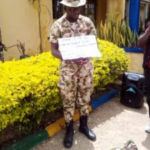 Police Parade Fake Soldier In Jos
