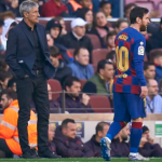 Barcelona Coach, Quique Setien Hits Back At Lionel Messi For Saying They Can't Win The Champions League Playing In His Style