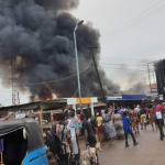 Ogbeogonogo Market In Delta Gutted By Fire