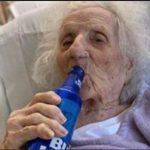 Jubilation As 103-Year-Old Woman Who Beat COVID-19, Celebrates With A Cold Beer