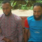 Faces Of Men Arrested With 36 ATM Cards Suspected To Have Been Stolen In Niger