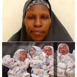 34-Year-Old Mum-Of-13 Welcomes Quadruplets In Kaduna(Photo)