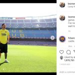 Messi Sends Emotional Message On Camp Nou Return: I've Really Missed This Place