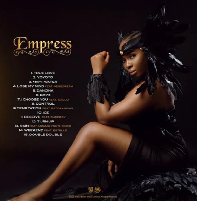 Empress Album tracklist