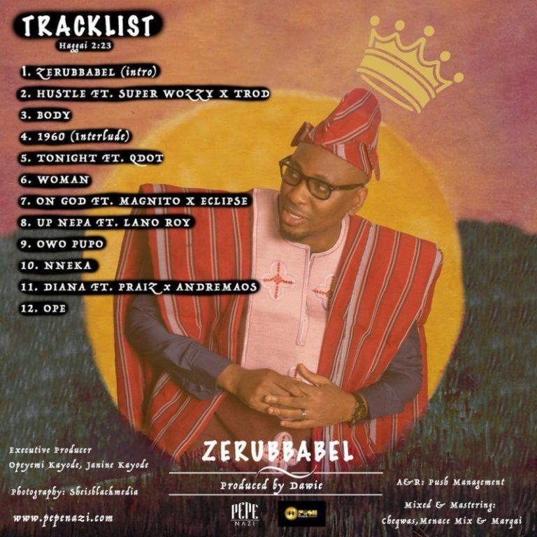Pepenazi – Zerubbabel Tracklist