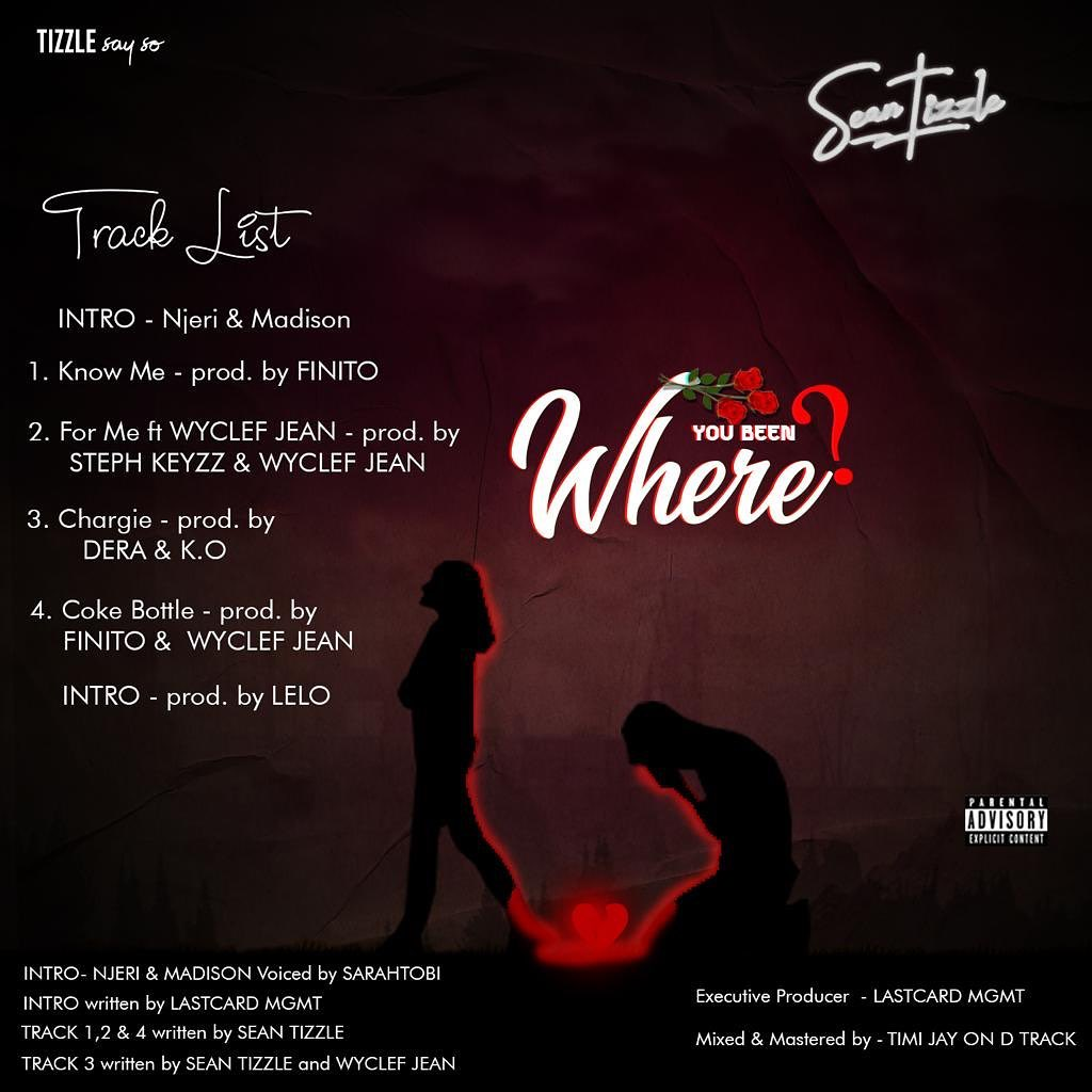 "Sean Tizzle – ""Where Are You"" Tracklist"