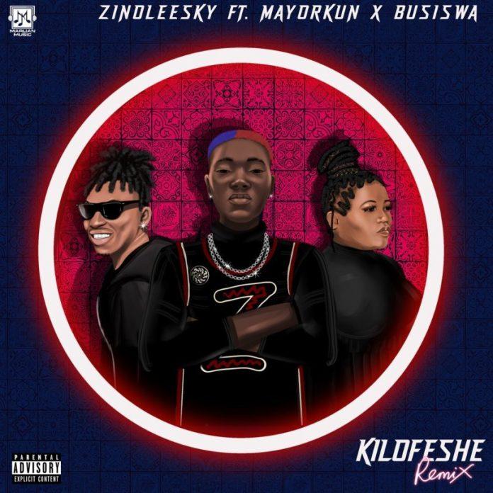 Zinoleesky Ft. Mayorkun, Busiswa – Kilofeshe (Remix)