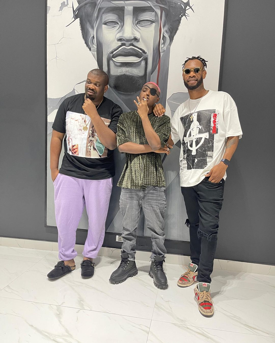 Don Jazzy, Ruger & D'prince