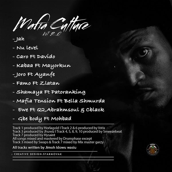Idowest – Mafia Culture Vol 2.0 EP Tracklist