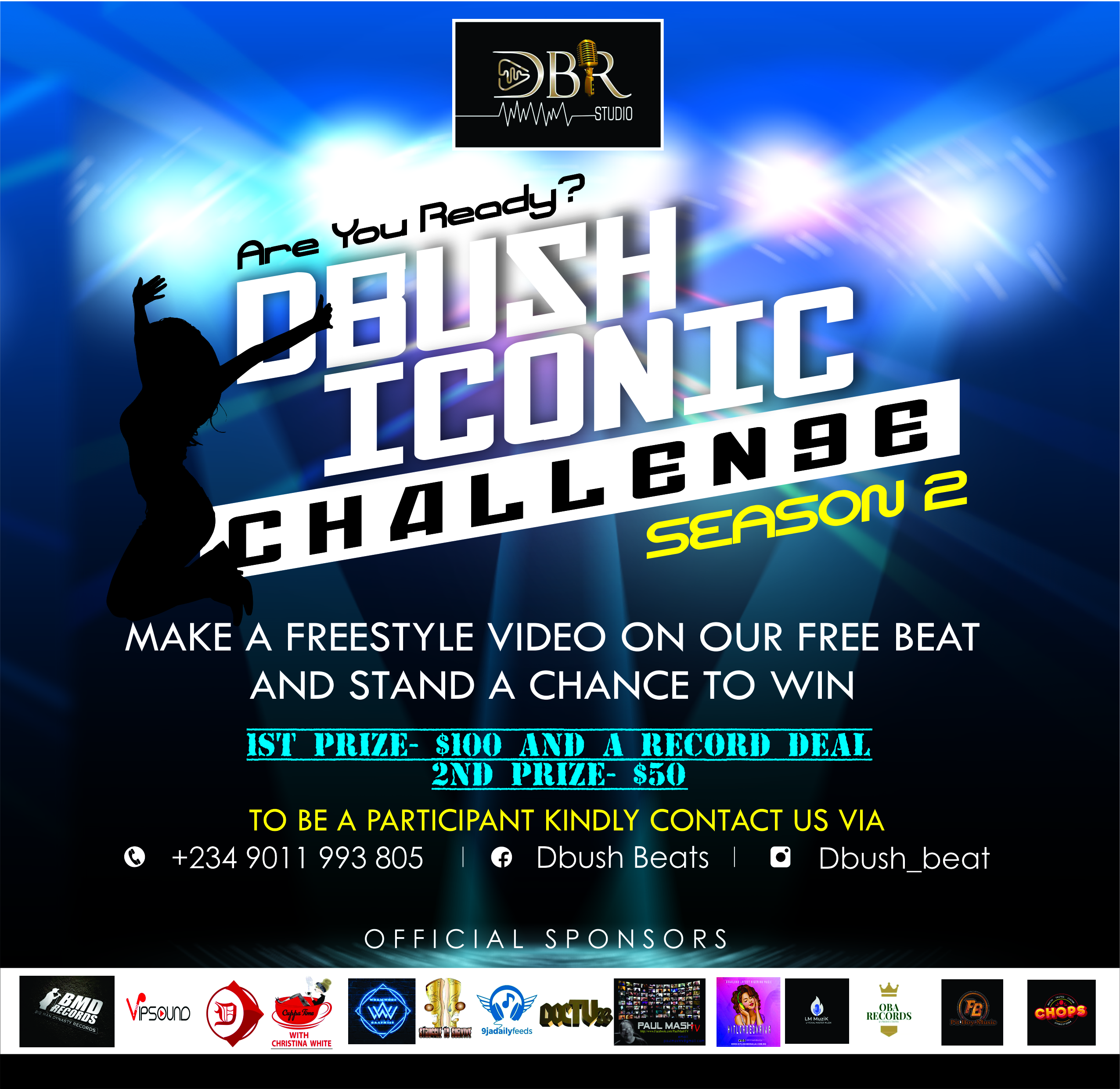 Dbush Beats Iconic Challenge Season 2