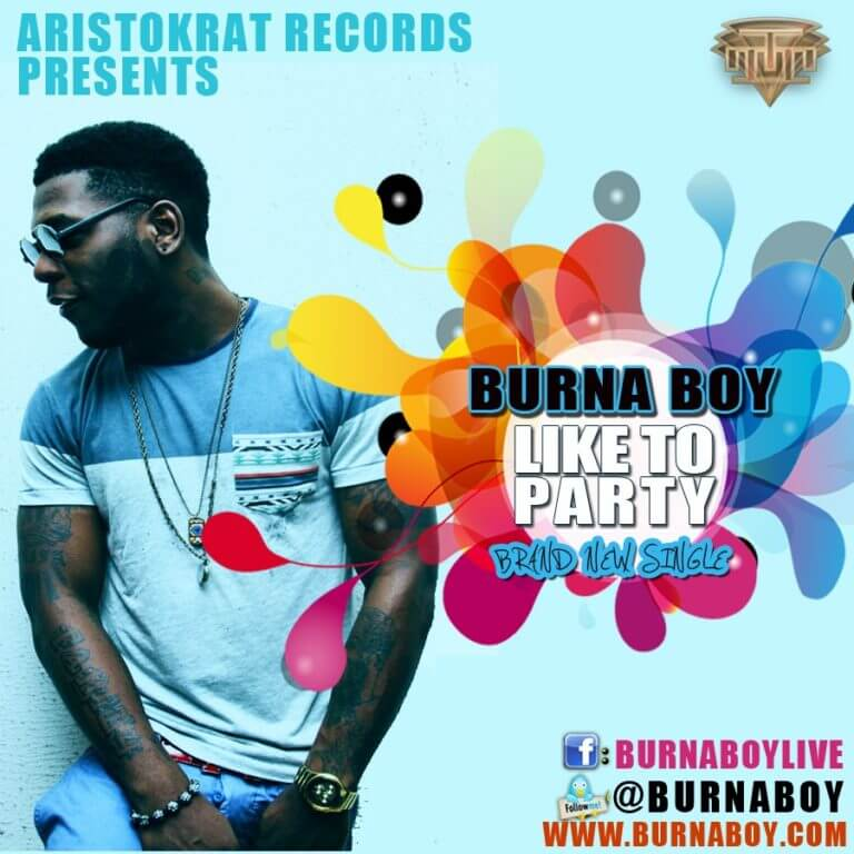 Burna Boy – Like to Party