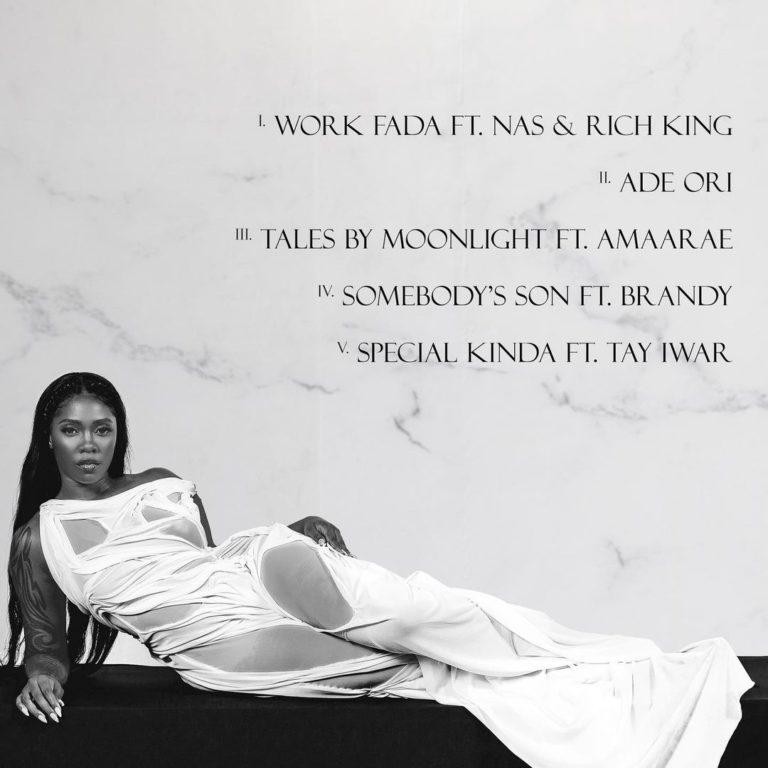 Tiwa Savage – Water & Garri EP Tracklist