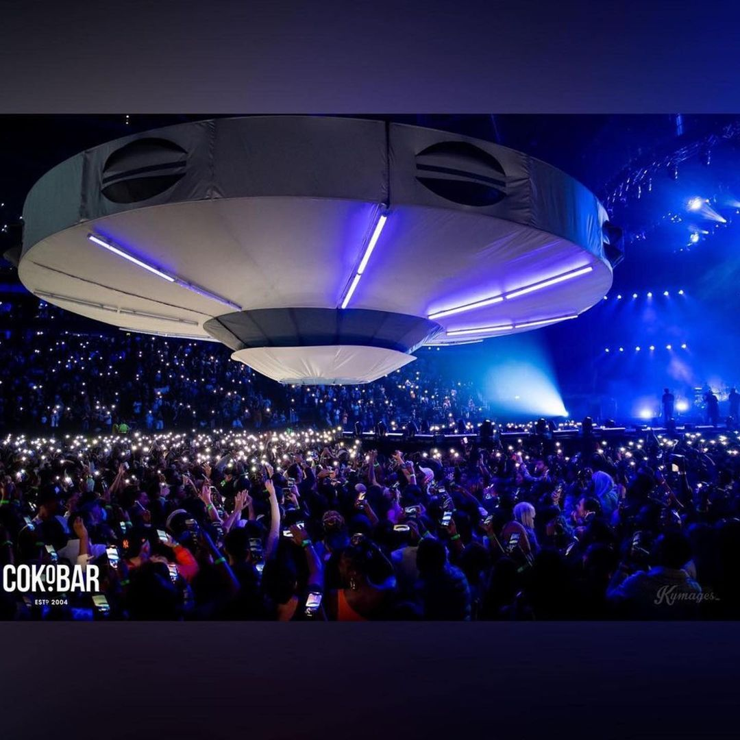 Burna Boy Live Performance At The 02 Arena